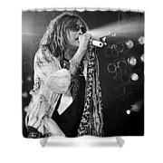 Steven Tyler In Concert Shower Curtain by Traci Cottingham