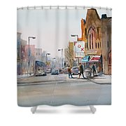 Steven's Point - Downtown Shower Curtain
