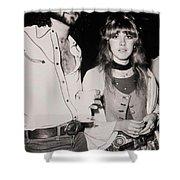Stevie Nicks And Lindsey Buckingham Shower Curtain