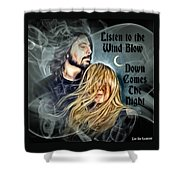 Stevie Nicks - Dave Grohl Shower Curtain