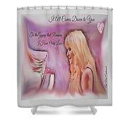 Stevie Nicks - Gypsy Shower Curtain