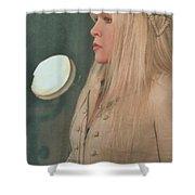 Stevie Nicks In Profile Shower Curtain