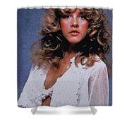 Stevie Nicks In Curls Shower Curtain