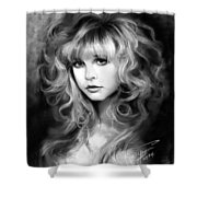 Stevie Nicks Shower Curtain