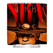 Stevie Ray Shower Curtain