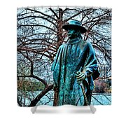 Stevie Ray Vaughan Vibrant Colors Shower Curtain