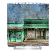 Stewards General Store And Post Office Shower Curtain