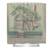 Stewart House Shower Curtain