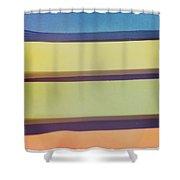 Sticky Stripes Shower Curtain
