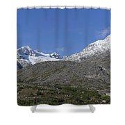 Stikine Mountains 2 Shower Curtain