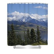 Stikine Mountains 3 Shower Curtain