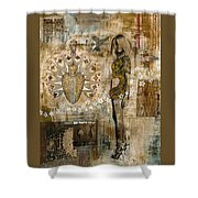 Stilettos Shower Curtain