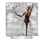 Still Believe Shower Curtain