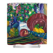 Still Life  Shower Curtain