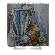 Still Life II Shower Curtain