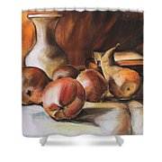 Still Life IIi Shower Curtain