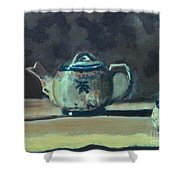 Still Life Teapot And Sugar Bowl Shower Curtain