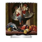 Still Life With Game Shower Curtain