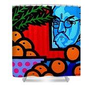 Still Life With Henri Matisse Shower Curtain