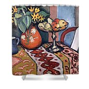 Still Life With Sunflowers II Shower Curtain