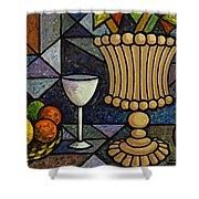 Still Life With Vase Shower Curtain