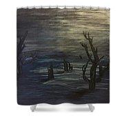 Still Of Night Shower Curtain
