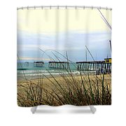 Still Standing Frisco Pier 3 4/25 Shower Curtain