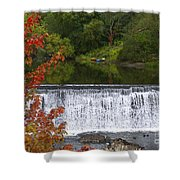 Stillness Of Beauty Shower Curtain