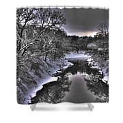 Stillwater Creek Shower Curtain