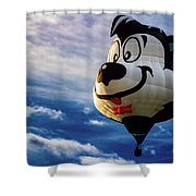 Stinky The Skunk Shower Curtain