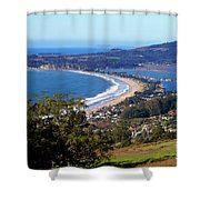 Stinson Beach  Shower Curtain