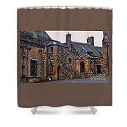 Stirling Castle Courtyard, Scotland Shower Curtain