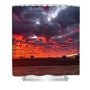 Stirling Ranges Sunrise Shower Curtain