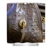Stirrup And Boot Shower Curtain