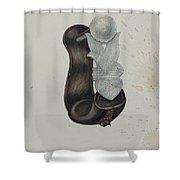 Stirrup Shower Curtain