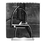 Stirrup Irons Shower Curtain