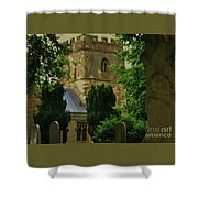 St. Nicholas Church, Yorkshire England Shower Curtain