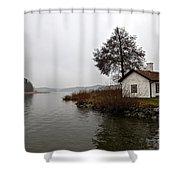 Stoccolma... Shower Curtain