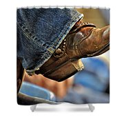 Stock Show Boots I Shower Curtain