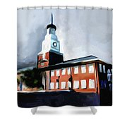 Stock Yards National Bank 537 1 Shower Curtain