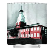 Stock Yards National Bank 537 2 Shower Curtain