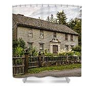 Stockbridge Mission House Shower Curtain