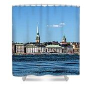 Stockholm From Lake Malaren Shower Curtain