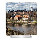 Stockholm From Skansen Shower Curtain