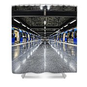 Stockholm Metro Art Collection - 008 Shower Curtain