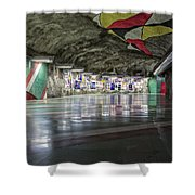 Stockholm Metro Art Collection - 012 Shower Curtain
