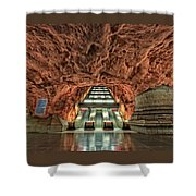 Stockholm Metro Art Collection - 013 Shower Curtain