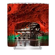 Stockholm Metro Art Collection - 015 Shower Curtain