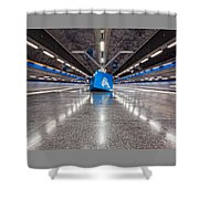 Stockholm Metro Art Collection - 017 Shower Curtain