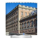 Stockholm Royal Palace  Shower Curtain